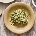 Spaghetti mit Rahm-Spinat-Sauce
