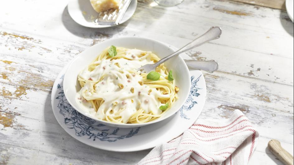 Maggi Fix für Spaghetti Carbonara
