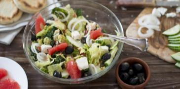 Griechischer Wirsing Salat