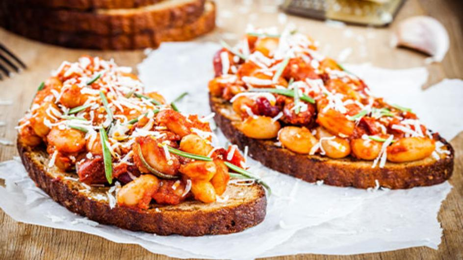 Cheesy Beans on Toast Recipe