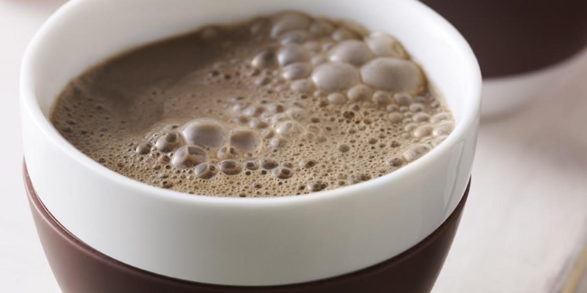 chocolate con avena