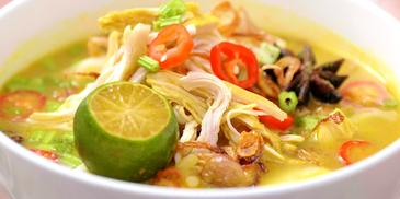 Chicken Soto Soup