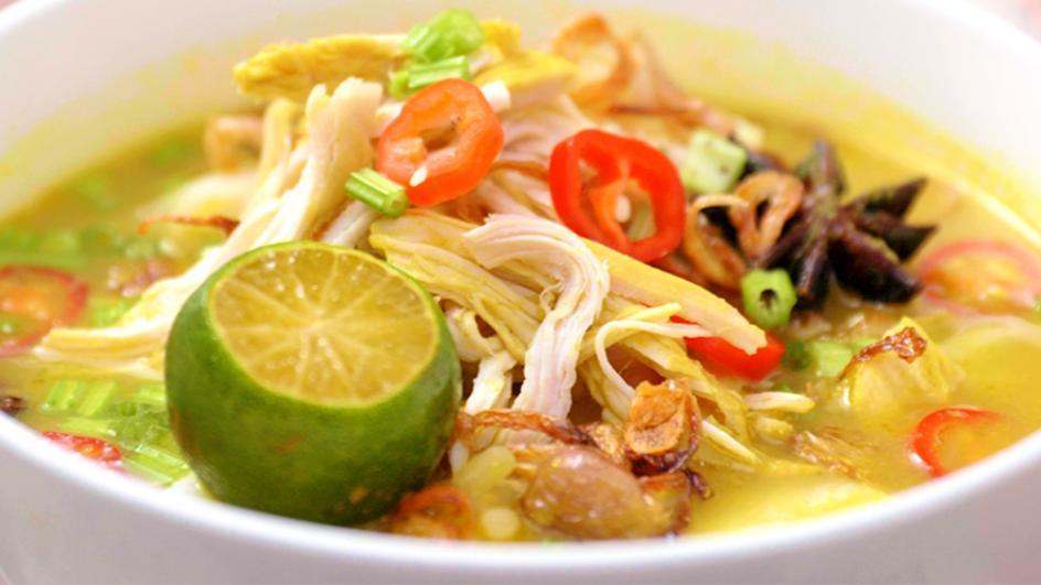Resipi Sup Soto Ayam