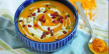 Zupa krem z marchewki z pomarańczą