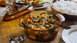 Pinakbet with Pork
