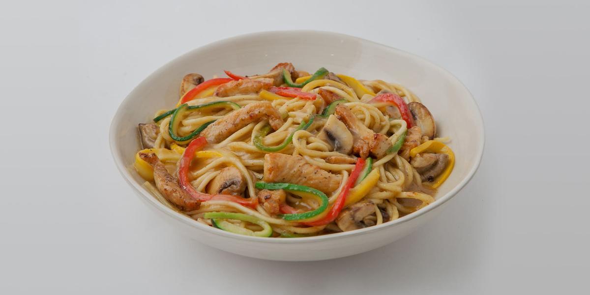 Espagueti chop suey