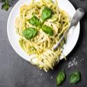 Špageti s domaćim pestom