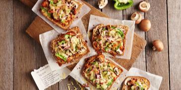 Piza BBQ Ayam Paling Senang