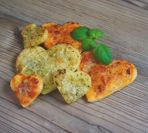 Biscuits pizza pour l'apéritif