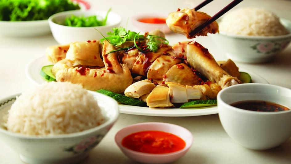 Resipi Nasi Ayam Kukus Hainan