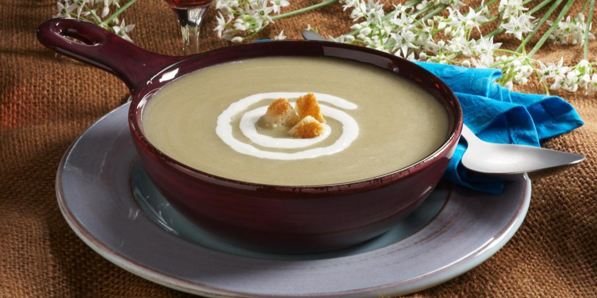 Creamy Eggplant Soup