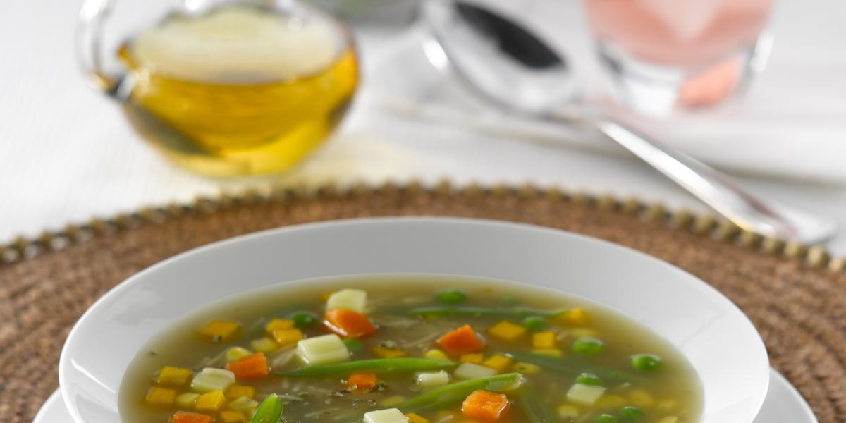 Sopa estilo Carbonada de Verduras