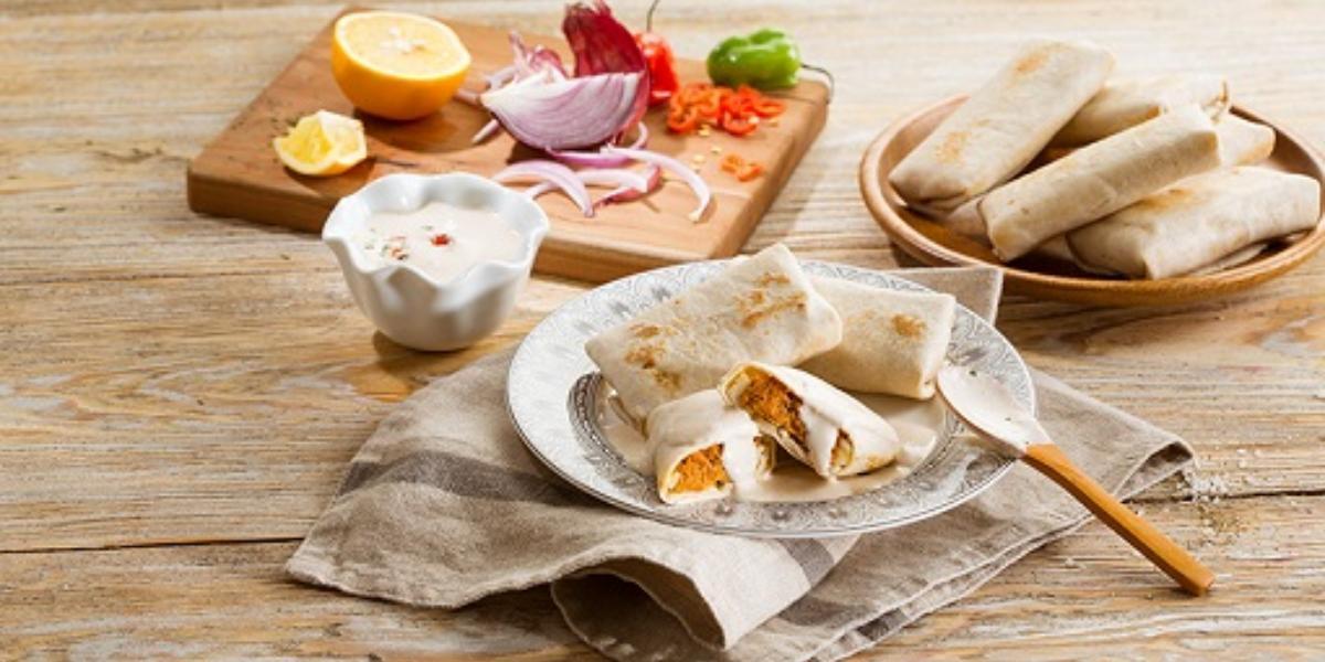 Rollitos de cochinita pibil