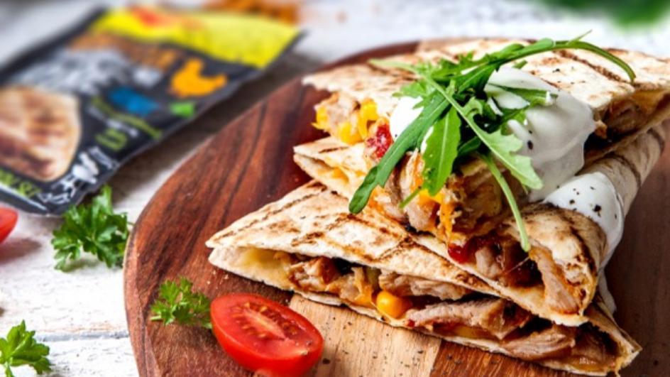 Quesadillas s kuřecím masem
