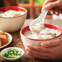 Comforting Chicken And Fish Porridge