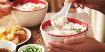 Comforting Chicken And Fish Porridge