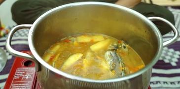 Ikan Basung Masak Ampap