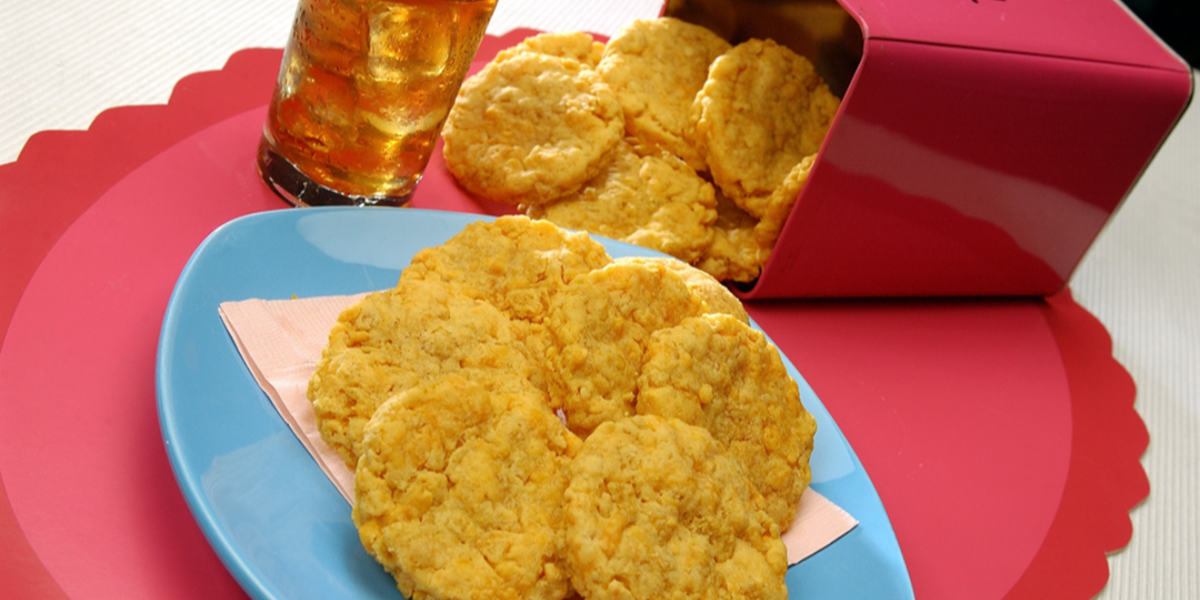Galletas de Corn Flakes Nestlé© con Queso