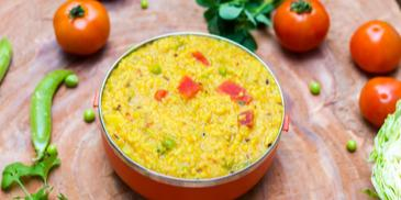 Khichuri with Salsa Twist Recipe