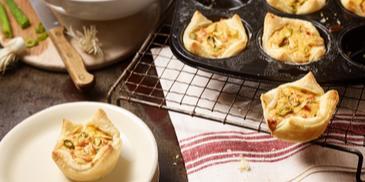 Mini-Zwiebelkuchen