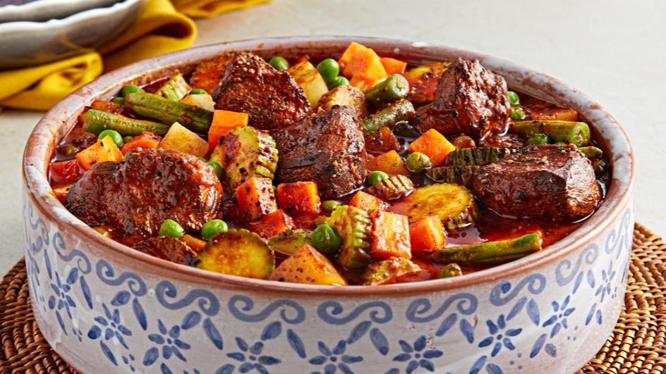 Vegetable and beef stew