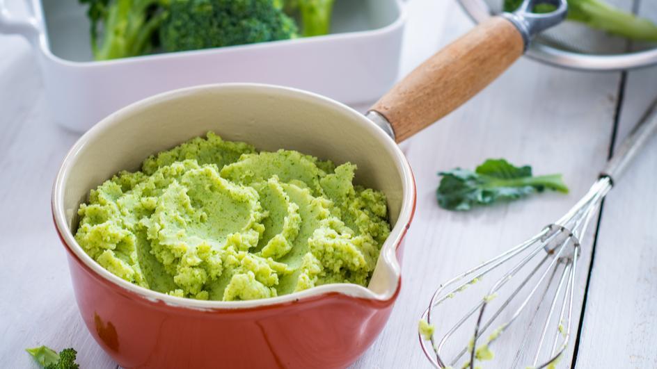 Cremiges Brokkoli-Kartoffel-Püree