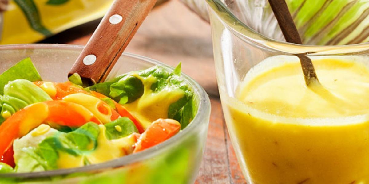 Aderezo de mostaza para ensaladas