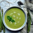 Szybka zupa krem ze szparagów