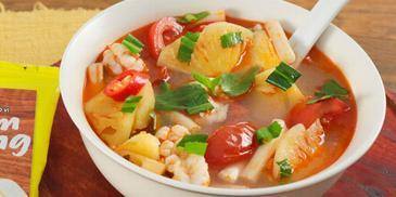 Thơm Nấu Tôm Phú Quốc