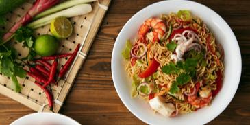 Resipi MAGGI Kerabu Seafood Kelantan