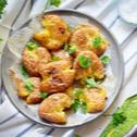 Petrezselymes roppantott krumpli