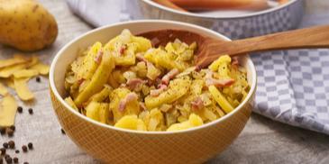 Frankfurter Speck-Kartoffelsalat