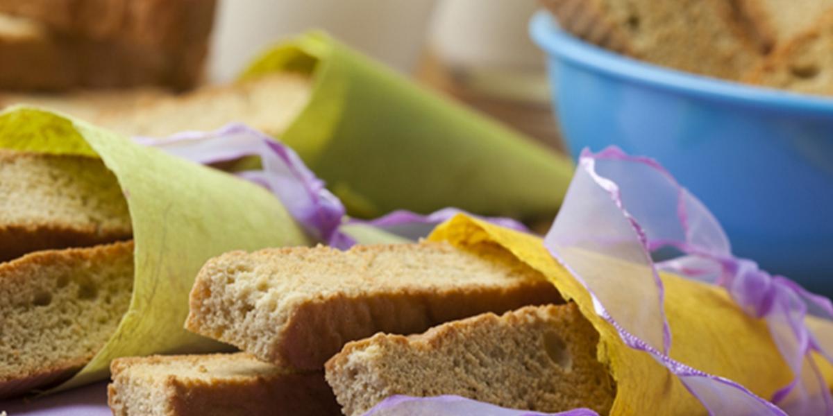 Bay biscuit de trigo y frutas