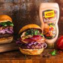 Hamburger domowy z chrupiącym boczkiem