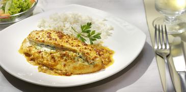 Gefüllte Hähnchenbrust-Filets