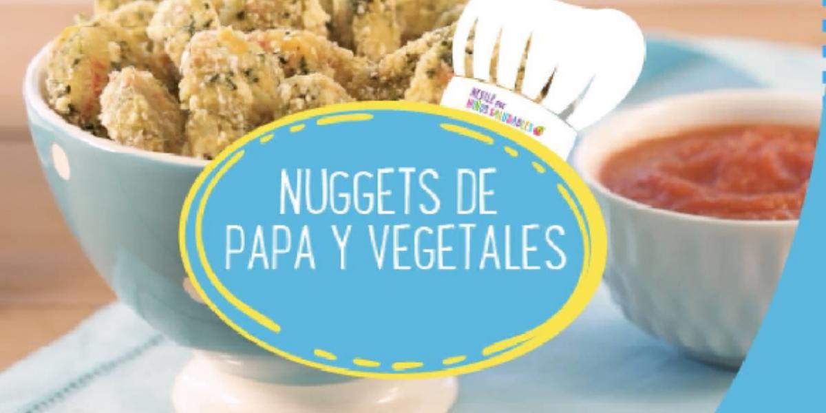NUGGETS DE PAPA Y VEGETALES