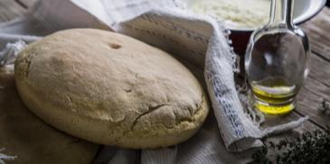Ψωμί με νιφάδες πατάτας
