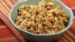 Crunchy Bread Upma Recipe