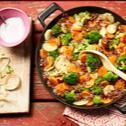 Gemüse-Quinoa-Pfanne