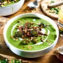 Krémová brokolicová polievka s cesnakom
