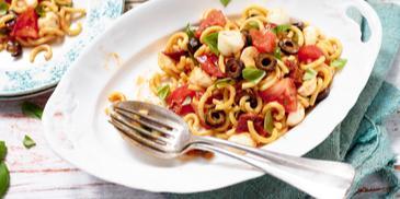 Italienischer Gabelspaghetti-Salat