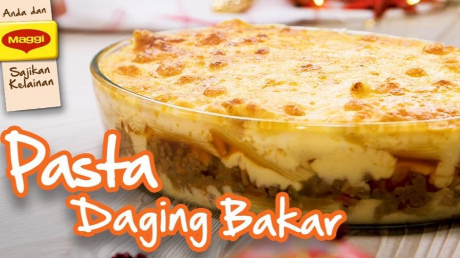 Pasta Daging Bakar
