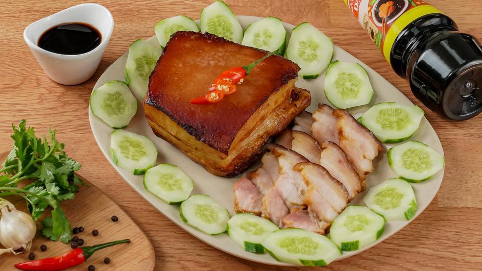 Thịt Ba Rọi Ram Nguyên Tảng