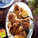 Marynowany kurczak z grilla z ziołami