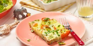 Bunte Gemüse-Tortilla