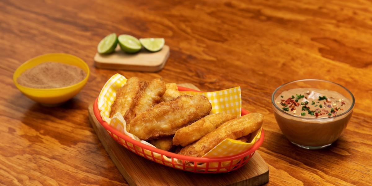 Pescaditos con salsa de chipotle