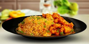 Hot butter cuttlefish fried rice