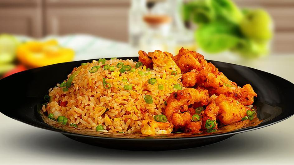 Hot butter cuttlefish fried rice