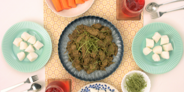 Traditional Home-Cooked Beef Rendang