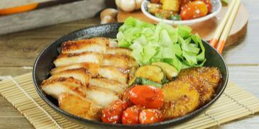 Ức Gà BBQ Sốt Teriyaki